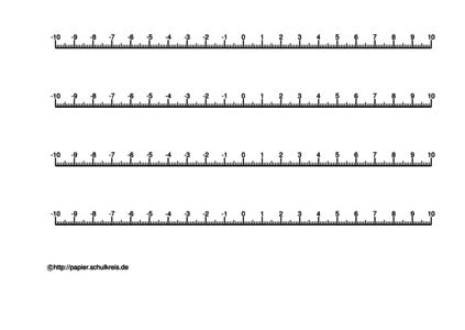 Zahlenstrahl Kostenlos Ausdrucken Zahlengerade Vorlagen